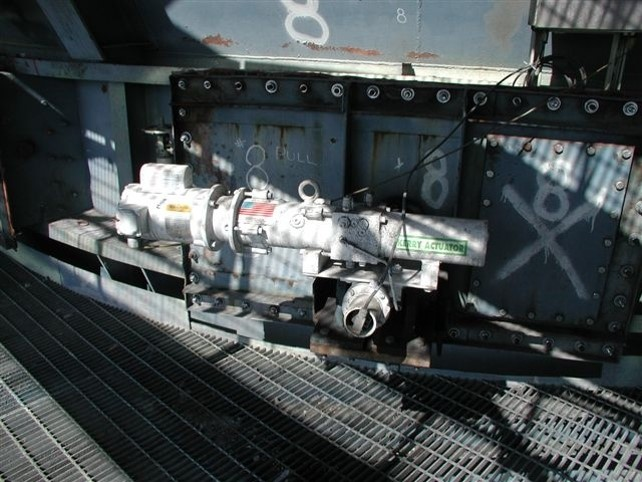 JB-7 Actuator Modulating Control on Scrubber Throat Damper in Power Plant