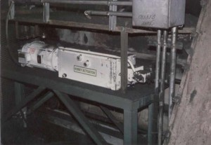 Series Q-36 High Speed Unit on Coal Sampler