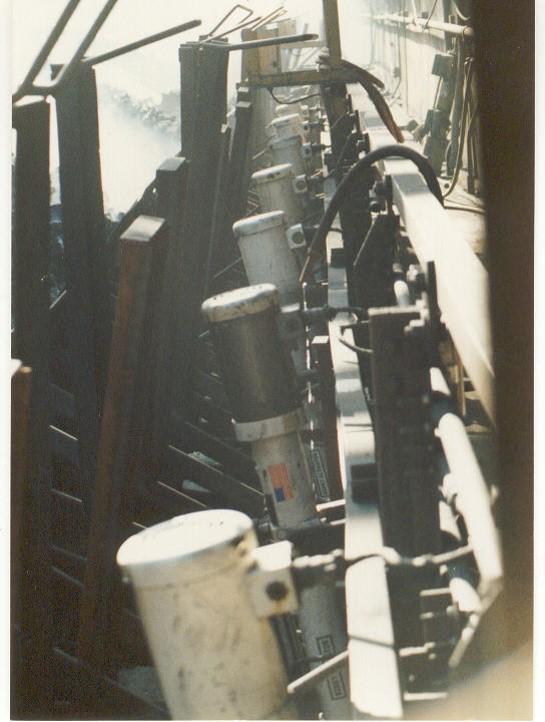 B Series Operating Wharf Gates at a Coke Battery