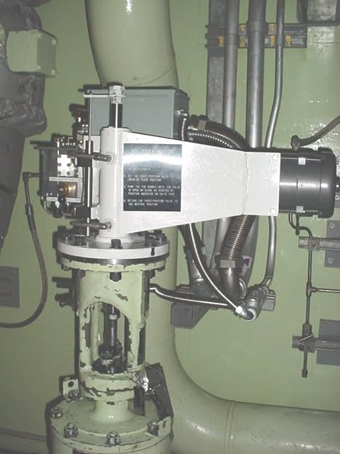 JE-6 Modulating Steam Valve Control in a Nuclear Power Plant