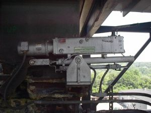 Kerry Actuator on a Scrubber