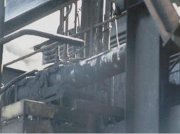 Series M-48 on Coke Pusher Machine Smoke Seal